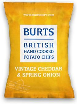 Burts Vintage Cheddar and Spring Onion Crisps