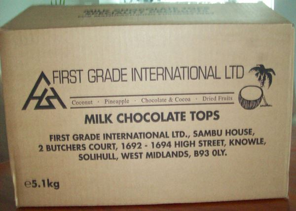 Milk Chocolate Tops