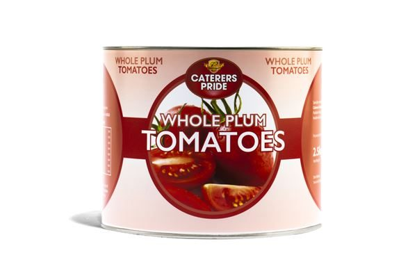 Caterers Pride Peeled Plum Tomatoes 2500g