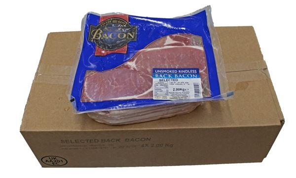 Quality Foods Rindless Unsmoked Back Bacon