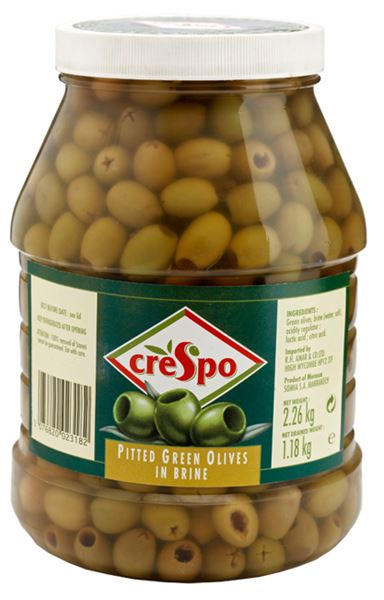 Crespo Pitted Green Olives
