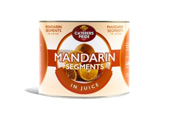 Mandarin Segments in Juice 2.65kg